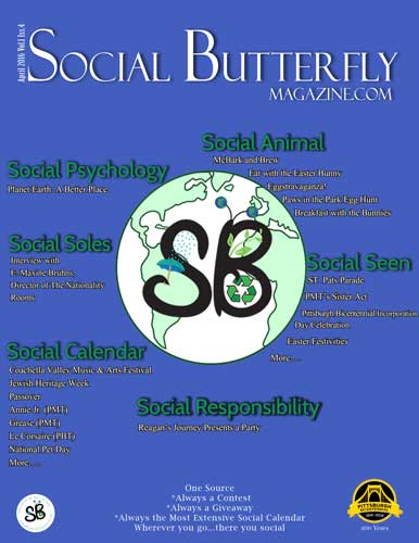 Social Butterfly Magazine April 2016