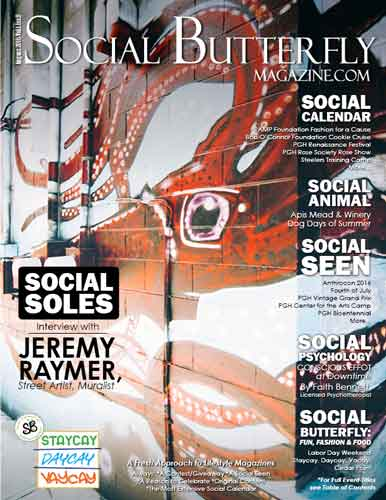 Social Butterfly Magazine August 2016