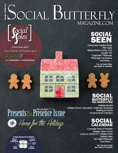 Social Butterfly Magazine December 2016
