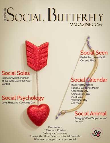 Social Butterfly Magazine February 2016