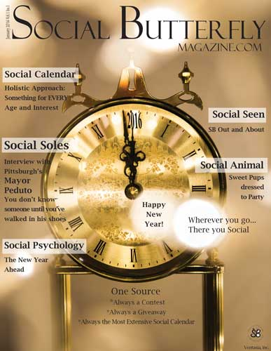 Social Butterfly Magazine January 2016