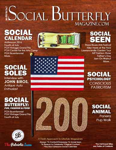 Social Butterfly Magazine July 2016