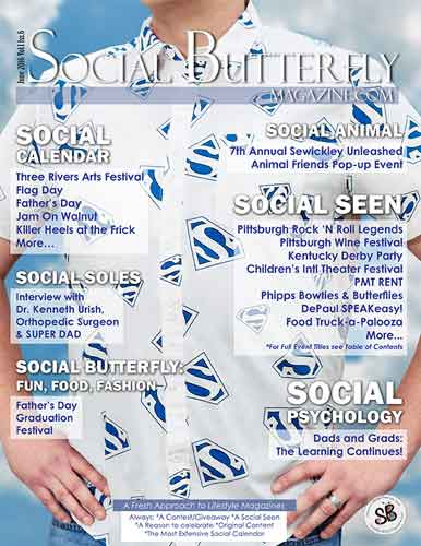 Social Butterfly Magazine June 2016