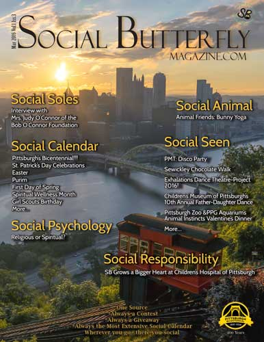 Social Butterfly Magazine March 2016