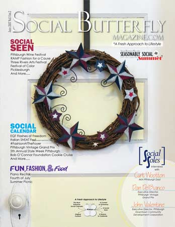 Social Butterfly Magazine Seasonably Social: Summer 2017