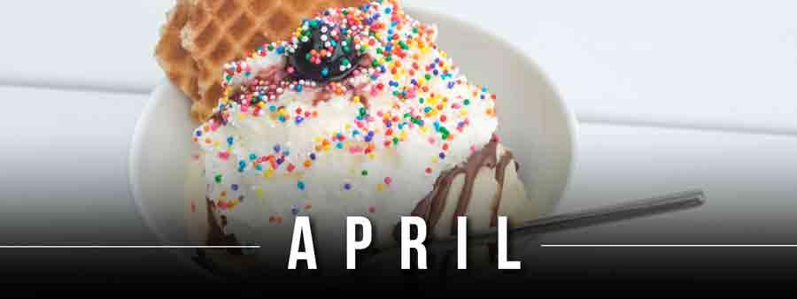 Social Eater/Drinker Calendar - April
