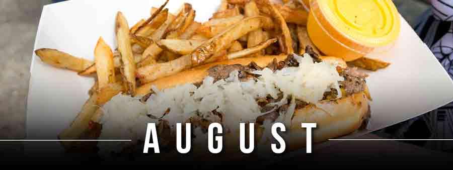 Social Eater/Drinker Calendar - August