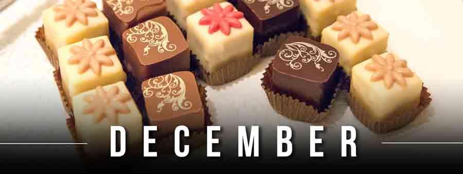 Social Eater/Drinker Calendar - December