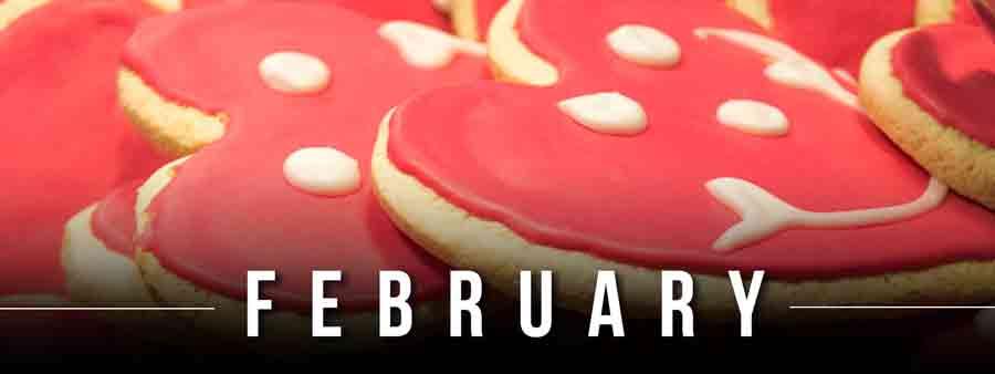 Social Eater/Drinker Calendar - February