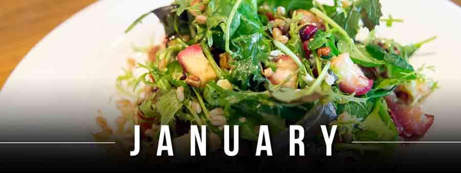 Social Eater/Drinker Calendar - January