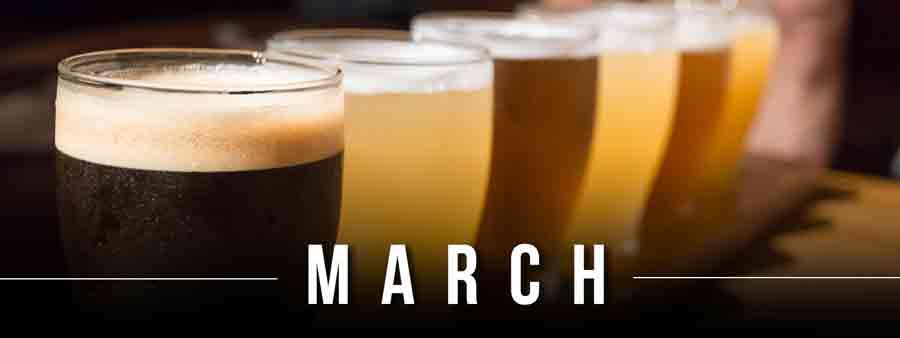 Social Eater/Drinker Calendar - March