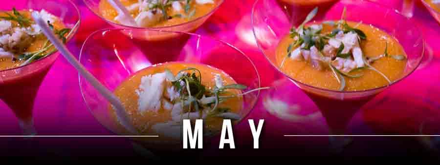 Social Eater/Drinker Calendar - May