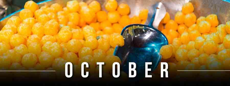 Social Eater/Drinker Calendar - October