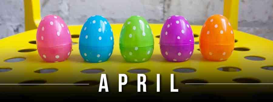 Social Calendar of Special Days April