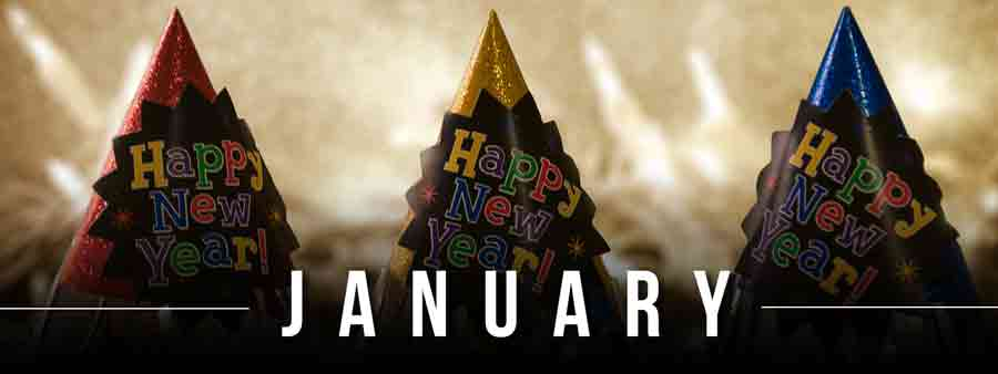 Social Calendar of Special Days January