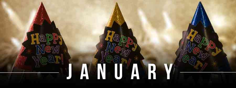 Social Calendar of Special Days January