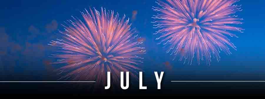 Social Calendar of Special Days July