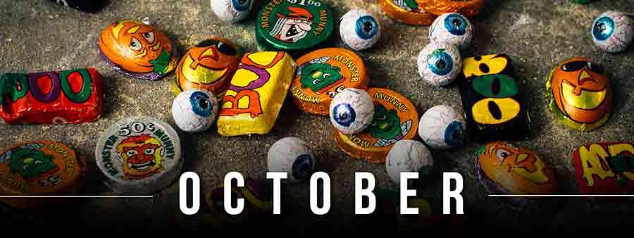 Social Calendar of Special Days October