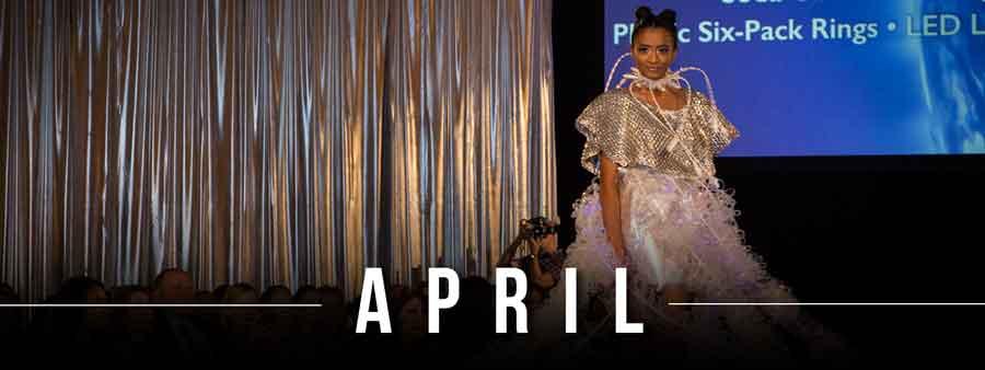 Social Famous Calendar - April