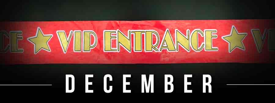 Social Famous Calendar - December