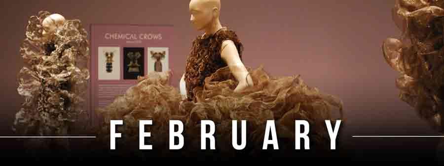 Social Famous Calendar - February