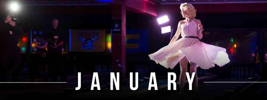 Social Famous Calendar - January