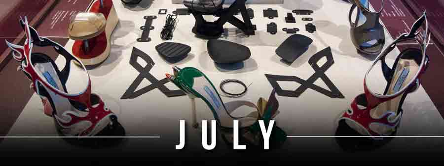 Social Famous Calendar - July