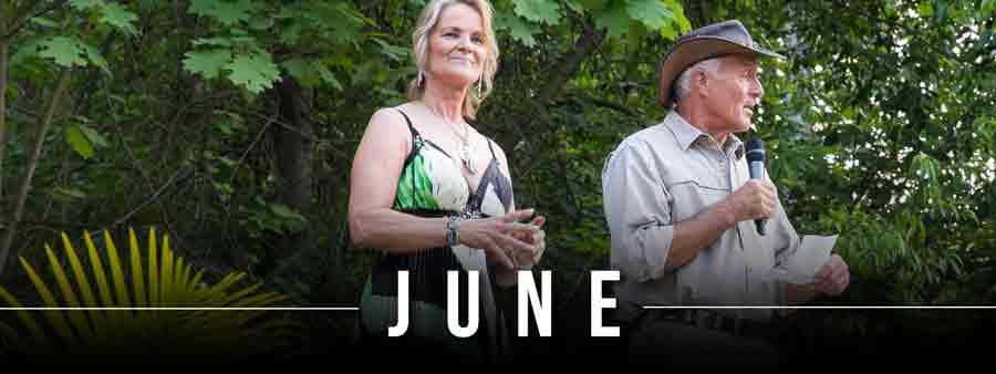 Social Famous Calendar - June