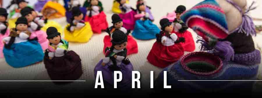 Social Festivals Calendar - April