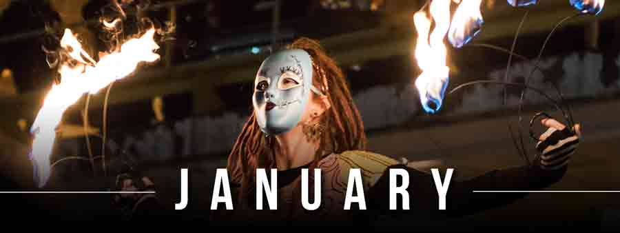 Social Festivals Calendar - January