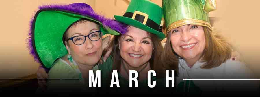 Social Festivals Calendar - March