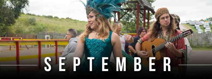 Social Festivals Calendar - September
