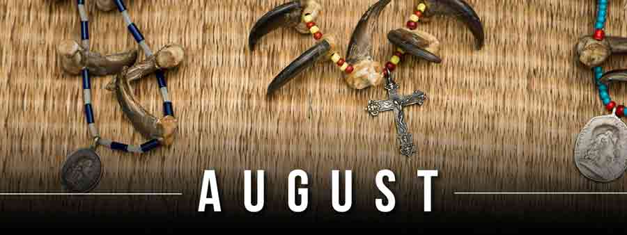 Social History Calendar - August