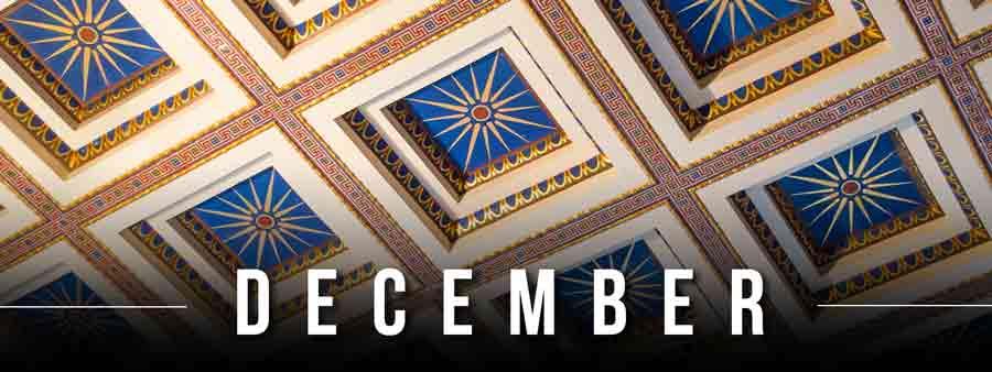 Social History Calendar - December