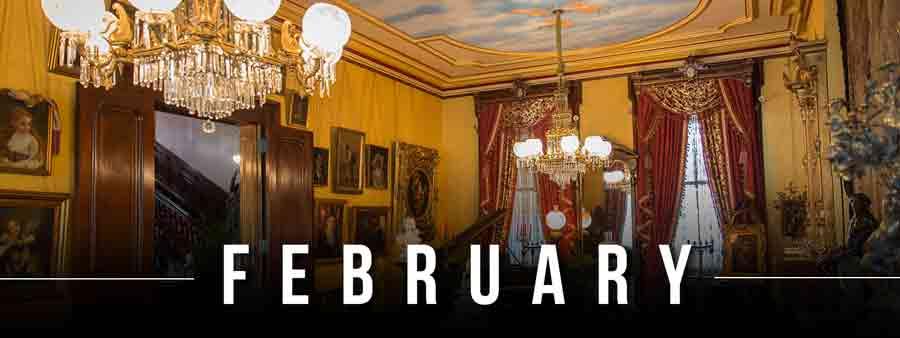 Social History Calendar - February