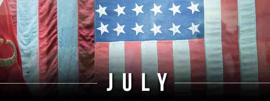 Social History Calendar - July