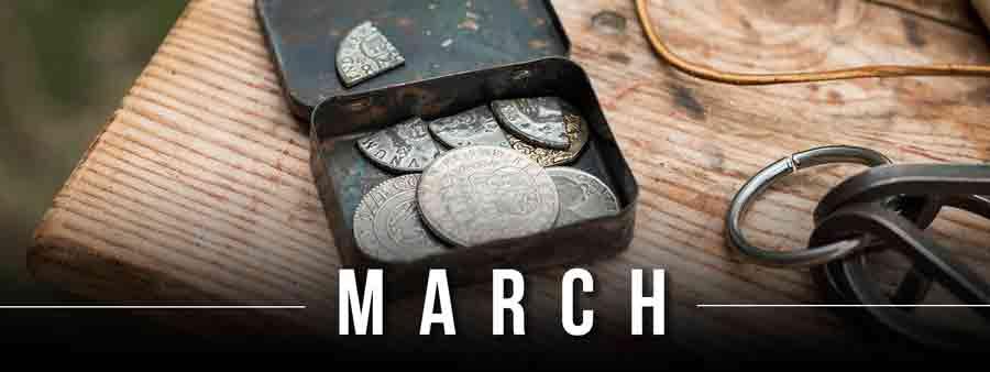 Social History Calendar - March