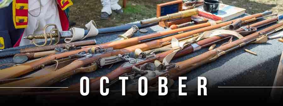 Social History Calendar - October