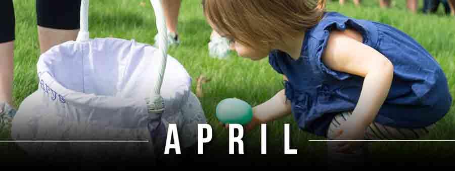 Social Kids Calendar - April