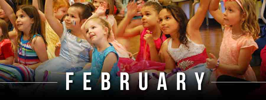 Social Kids Calendar - February