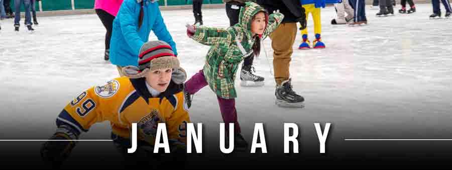 Social Kids Calendar - January