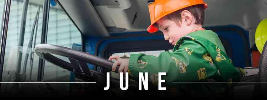 Social Kids Calendar - June