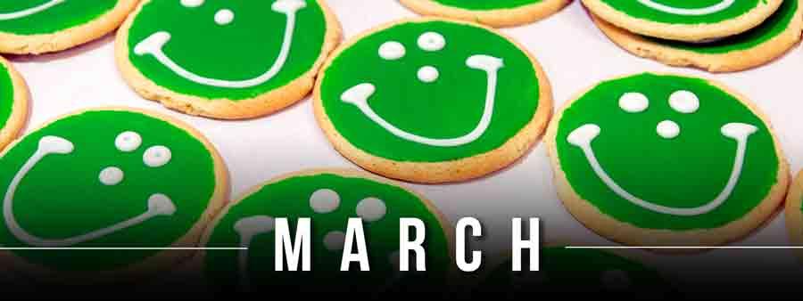 Social Kids Calendar - March