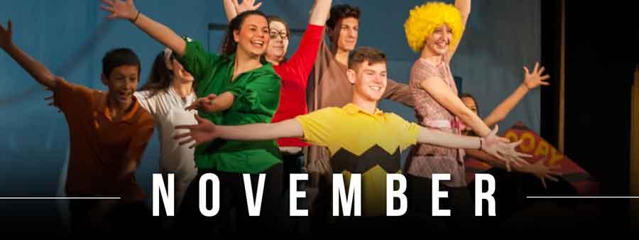 Social Kids Calendar - November