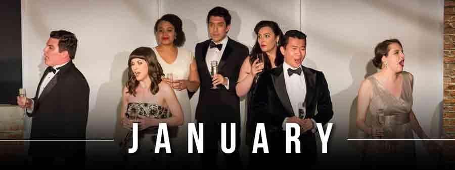 Social Music Calendar - January