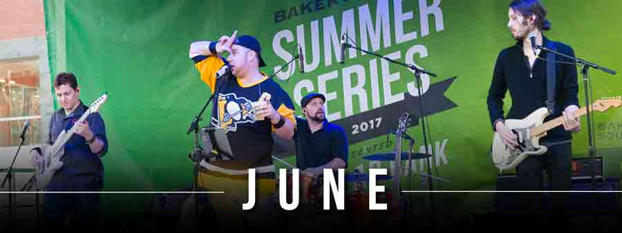 Social Music Calendar - June