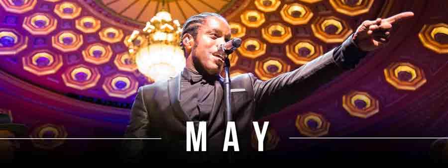 Social Music Calendar - May