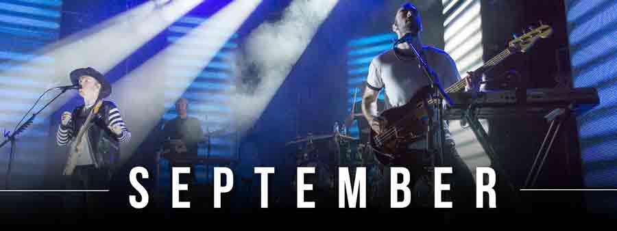 Social Music Calendar - September