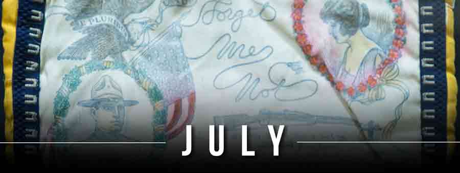 Social Psychology Calendar - July