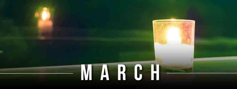 Social Psychology Calendar - March